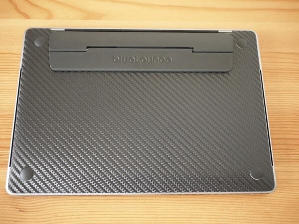 wraplus for MacBook Pro 13インチ [ブラックカーボン] スキンシール3