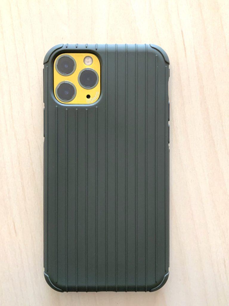 [GRAMAS] iPhone 11 Pro用 Rib light TPU Shell Case