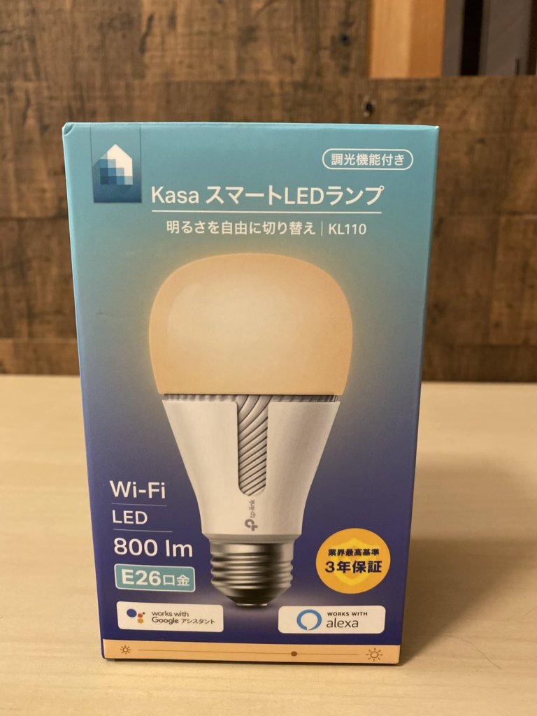 TP-LINK kasaスマートLEDランプ KL110