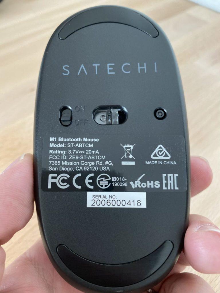 Satechi M1 ワイヤレスマウス
